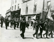 1946 Laune Pipers Band, Corpus Christy Procession, Main Street, Killorglin