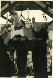1958 Willie Mangan at Puck Fair