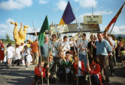 1998 The Boys of Wexford pre Puck Fair Parade, at the Fishery Killorglin.jpg
