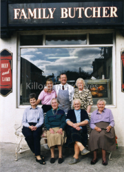 2001 Retirement, Breda Falvey, Liam Burke, Honor O'Connor, Mary Burke, Hanah Houlihan, Nellie Piggott, Mary Feeney.