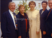 Gene Mangan,with his Wife and Mary Mcaleese.
