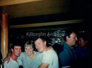 O Neill's Pub,Langford Street, Killorglin,Timmy Doona and his Wife with Buddy Nauchtan.