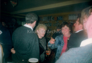 Josie O Brien and John O Brien Dernafeena to her right. in O Neill's Bar,Langford Street, Killorglin.