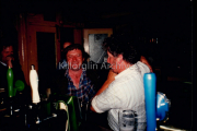 Danny Cahilane & Donie Connel In O'Neills Bar, Killorglin.