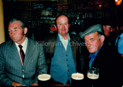 Jim Fogarty,Tom Evans and Paddy Doherty.in O Neill's Bar,Langford Street,Killorglin,