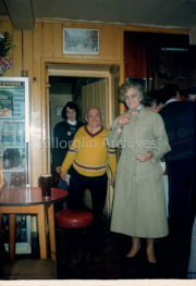 Bridie Fogarty, Willie and Mary mangan, in O'Neills Bar around late 80's