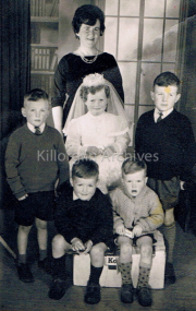 Freeman family photo, First holy Communion.