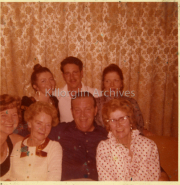 Joan O'Calaghan, Bridie ?, Donie & Eileen Collins, Kathleen O'Neill Dixon, Mr. Dixon, Helen Collins,