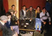 L-R Sean Og Rua O'Sullivan, Sullivan, ?, Alfie Christian, Alex Christian, Corney Joy, Wilma Silvius, Gerard Joy,