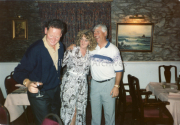 Eamon Darcy,Ann Foley, Christy O'Connor Junior enjoyin a night in Nicks