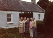 L-R Eileen Collins, Joan Callaghan, Julia O'Neill, ?, ?