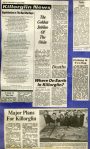 Exploitation In The Bad Old Days, The Golden Jubilee Of The Oisin, Where On Earth In Killorglin?, Major Plans For Killorglin, Fishing & Fowling