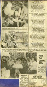 A Tribute To Killorglin Puck Fair, Puck Fair Committee 1984, Historical Exhibition