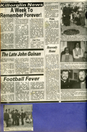 A Week To Remember Forever, The Late John Guinan, Football Fever, Heavenly Home