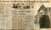 Centenary Celebrations In Killorglin In September, A Parish Steeped In Its History