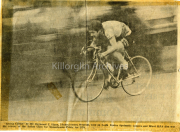 John Mangan Cycling Newspaper