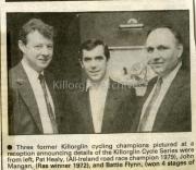 Pat Healy, John Mangan, Battie Flynn