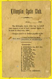 Killorglin Cycle Club 1906