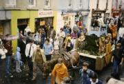 Puck Fair, David Power, Patrick & John Houlihan with horse drawn floats.068.jpg