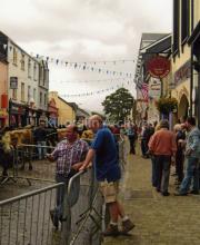 Paudie Cronin and Billy Browne at Puck Fair
