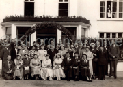 FR. ?, Kathleen Dood, Annette Corkery?, Mary Dodd?, Philamena Dodd, Eileen Dodd, Liam Gannon, ?, ?,  Secondo Row: Sonny Champ, Mrs Champ, KatiePT O'Sullivan, Ms Houlihan, Collette Mangan, Tim Sheehan, Kitty Sheehan, Mary Clifford (Bulker), ?,  Third Row:  Mikey Brosnan, ?, ?, John Joe Grady, Kitty Clifford?, Mrs Dodd, ?, ?,?, Pattie Dodd, Peg Brosnan,Mrs Moriarty, James Coffey  Back Row: ?, Denis Lynch, Gerald Hartnett, Donal Quinn,?, ?, Tom Moriarty, ?. ?.